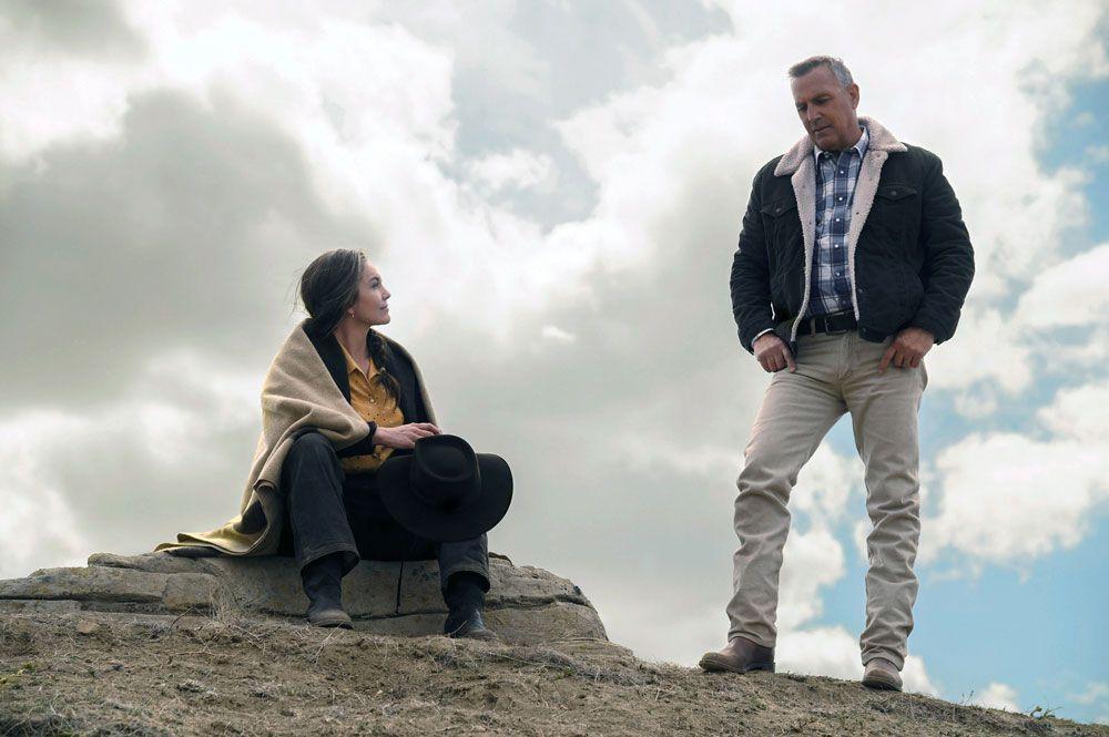 """Diane Lane and Kevin Costner in """"Let Him Go"""""""