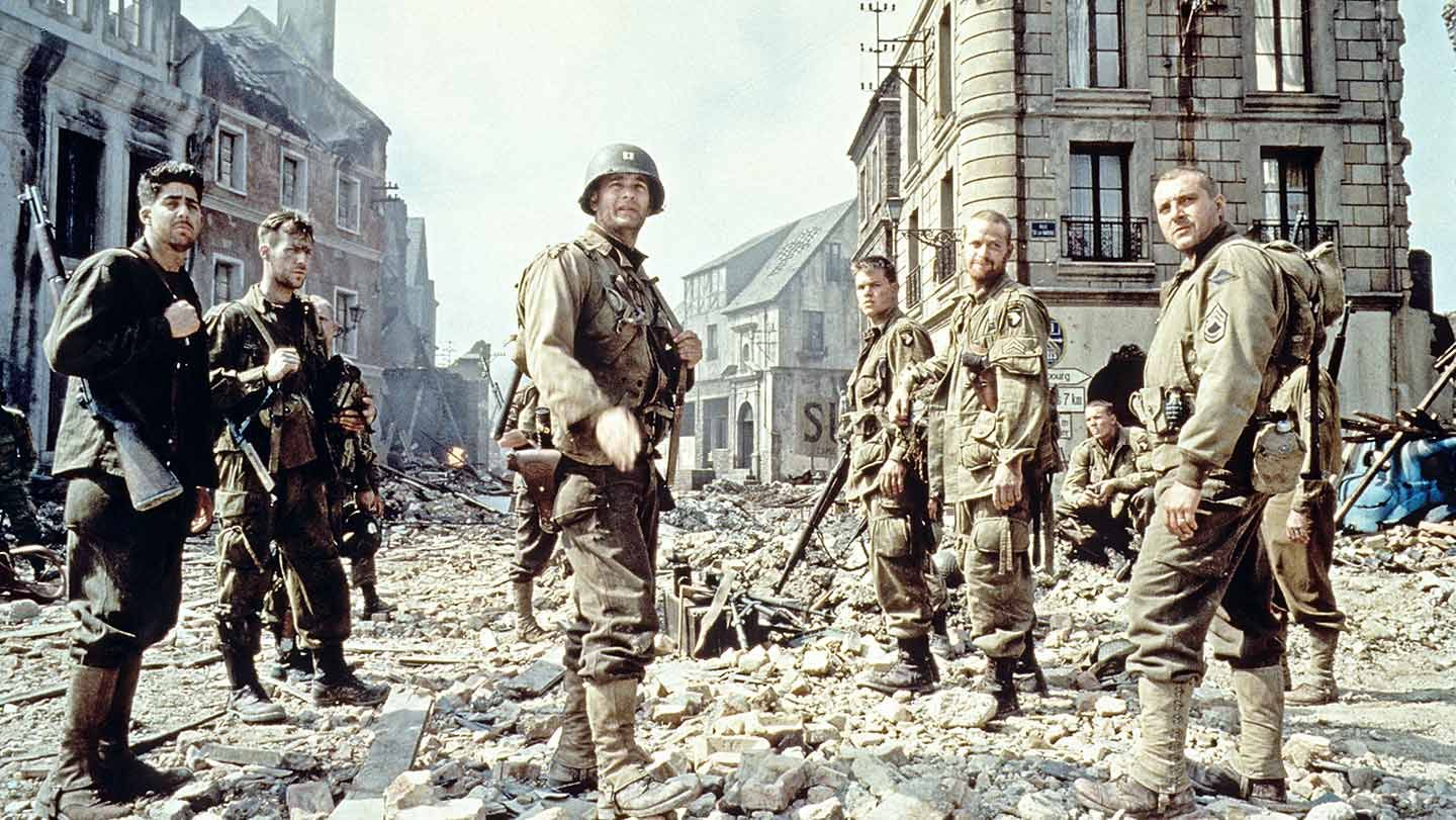 """The cast of """"Saving Private Ryan."""""""