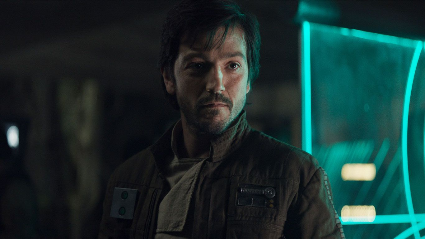 """Diego Luna in """"Rogue One: A Star Wars Story."""""""