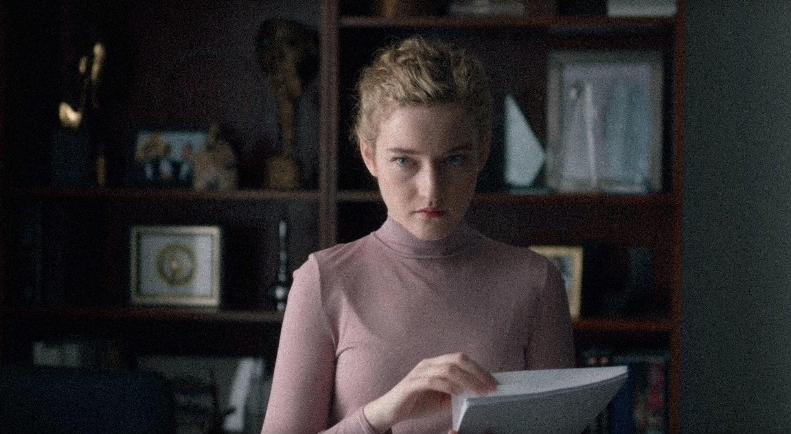 "Julia Garner in ""The Assistant."""