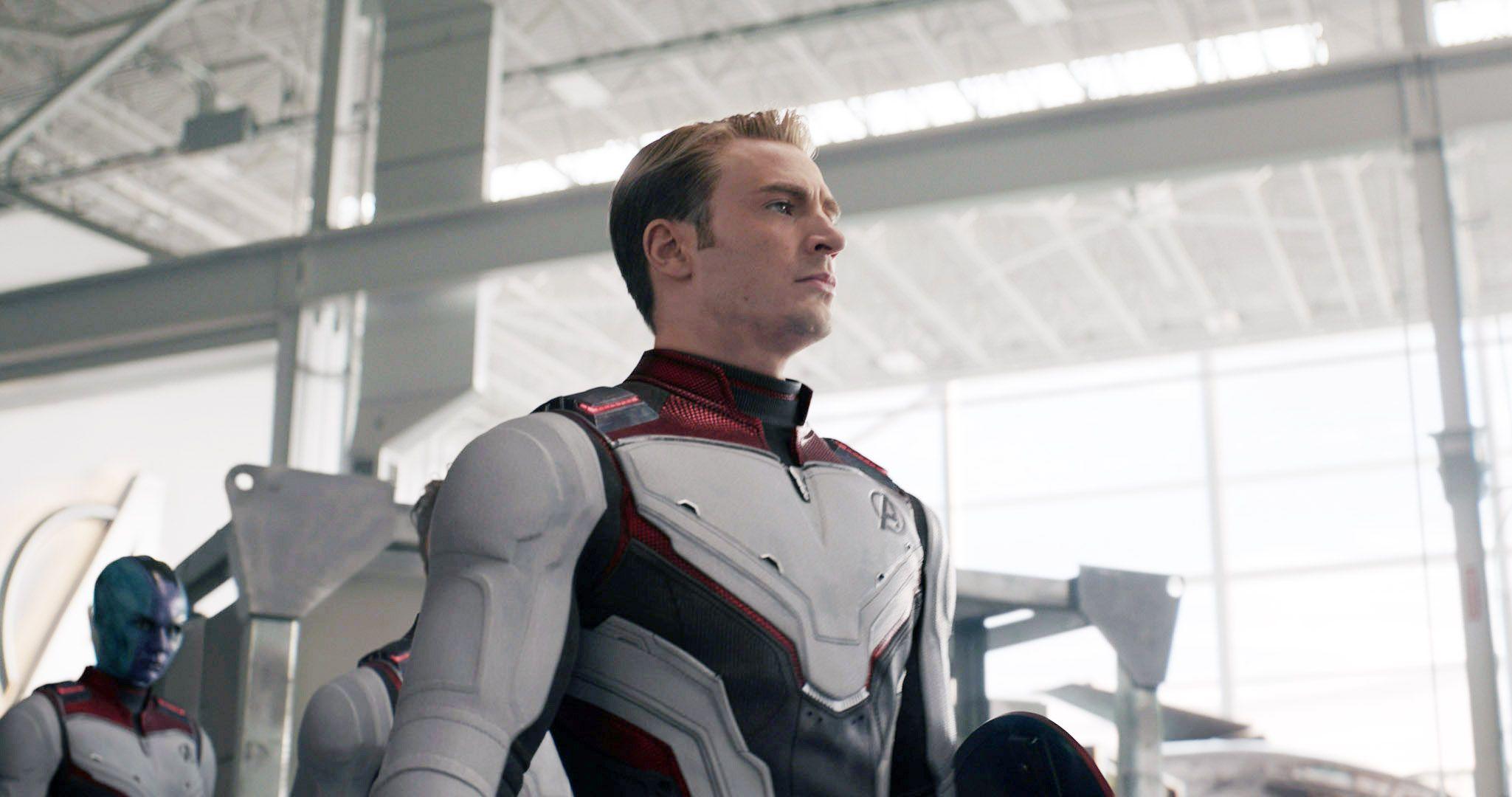 """Chris Evans in """"Avengers: Endgame."""""""