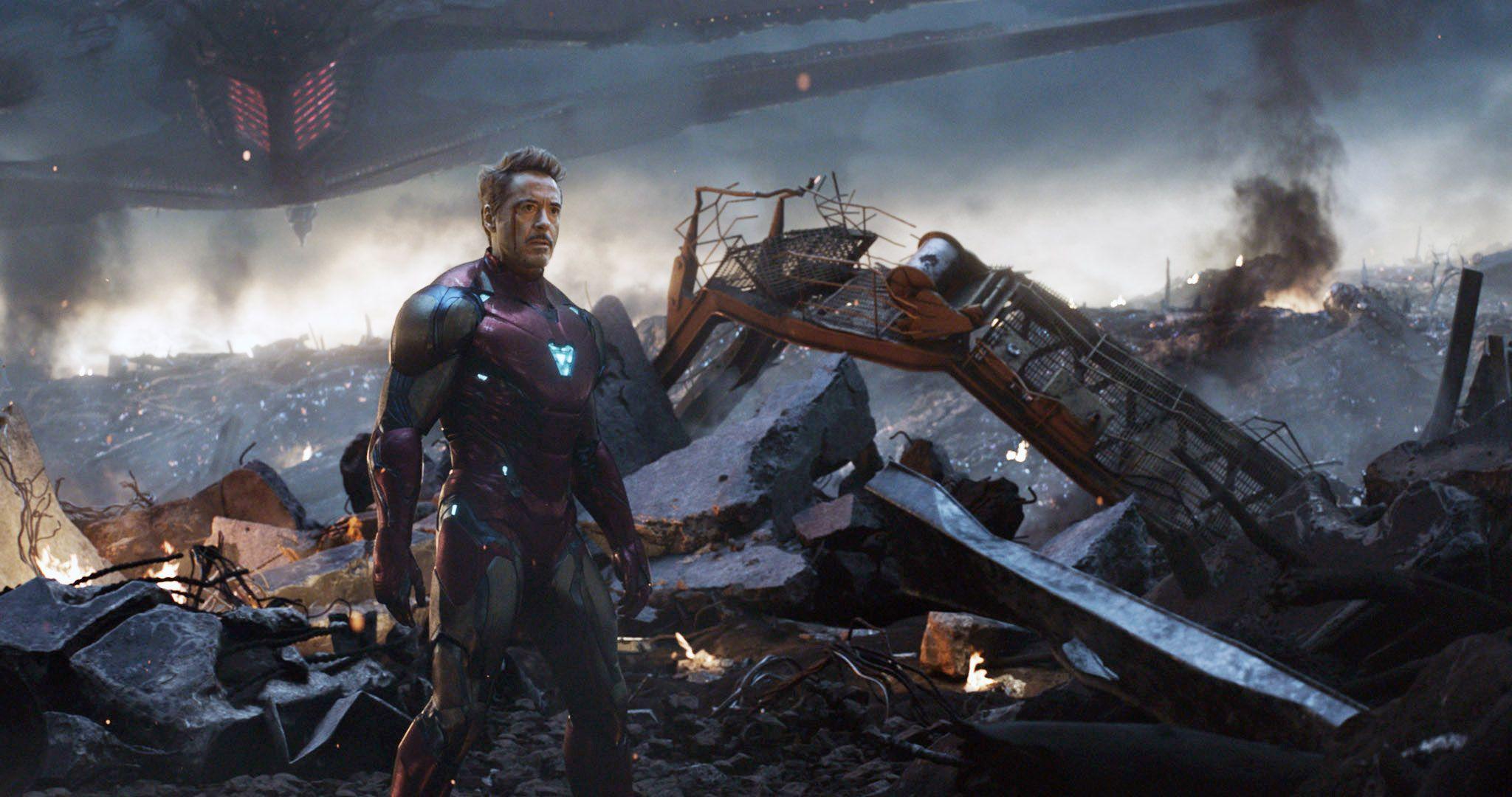 """Robert Downey Jr in """"Avengers: Endgame."""""""