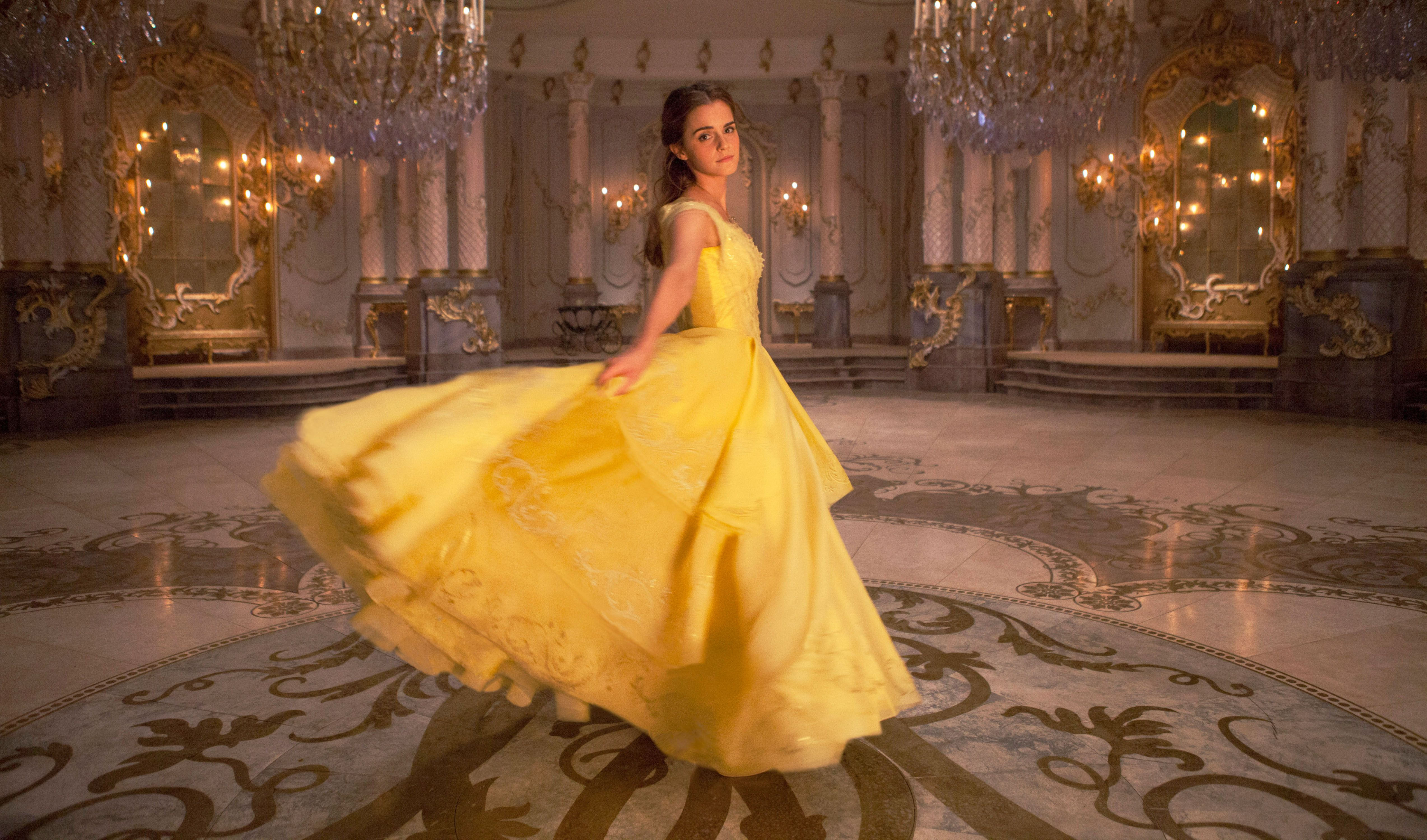 """Emma Watson in """"Beauty and the Beast."""""""