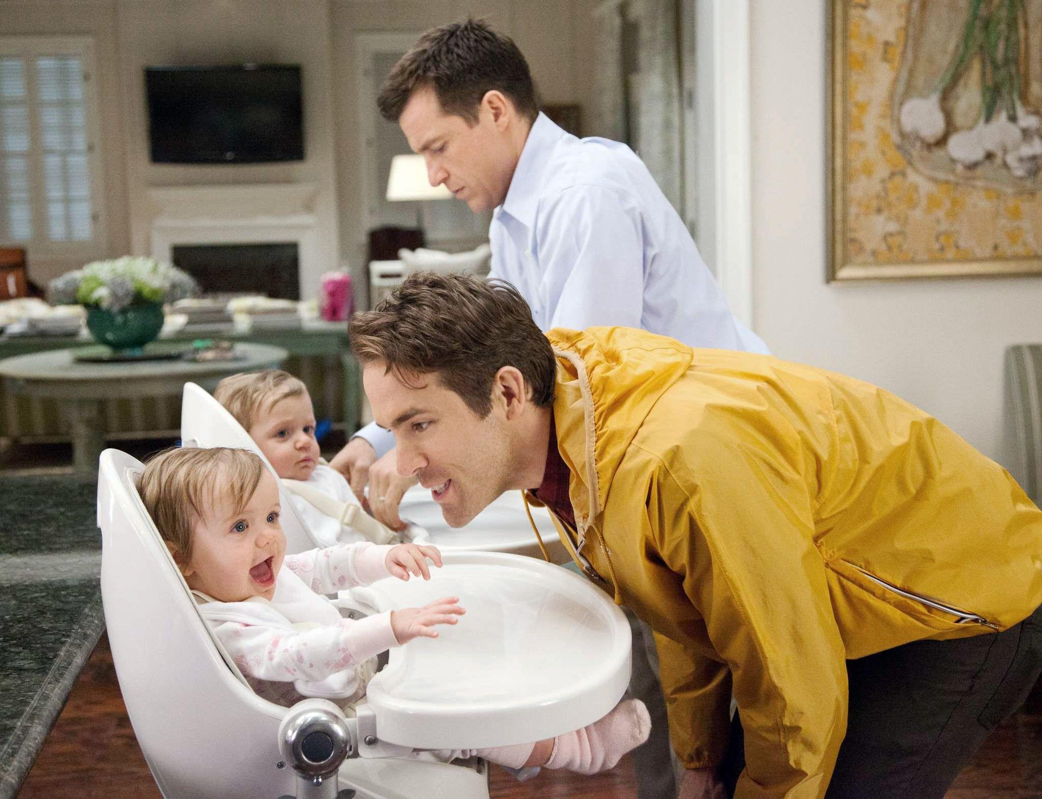 "Jason Bateman and Ryan Reynolds in ""The Change-Up."""