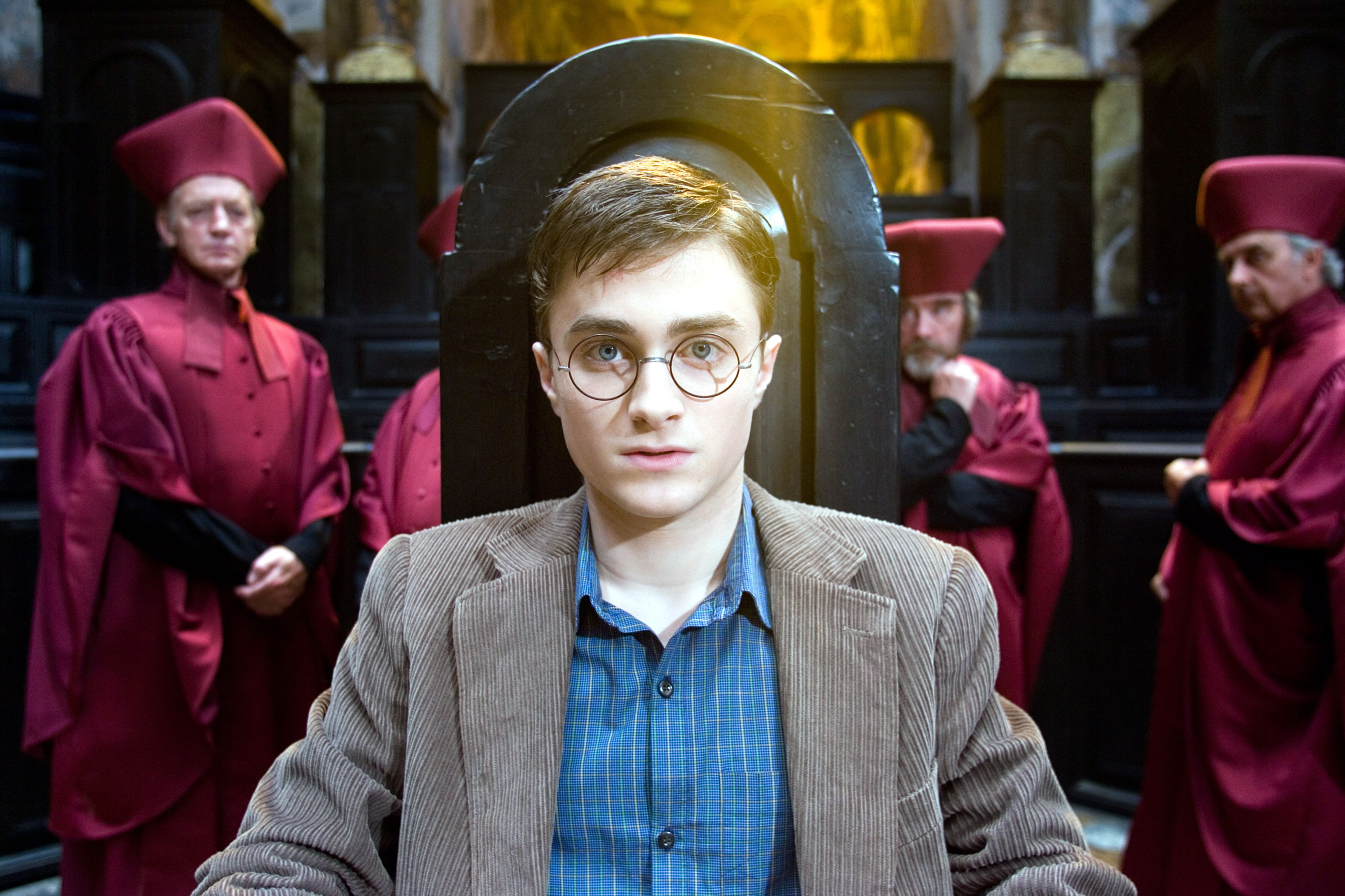 """Daniel Radcliffe in """"Harry Potter and the Order of the Phoenix."""""""
