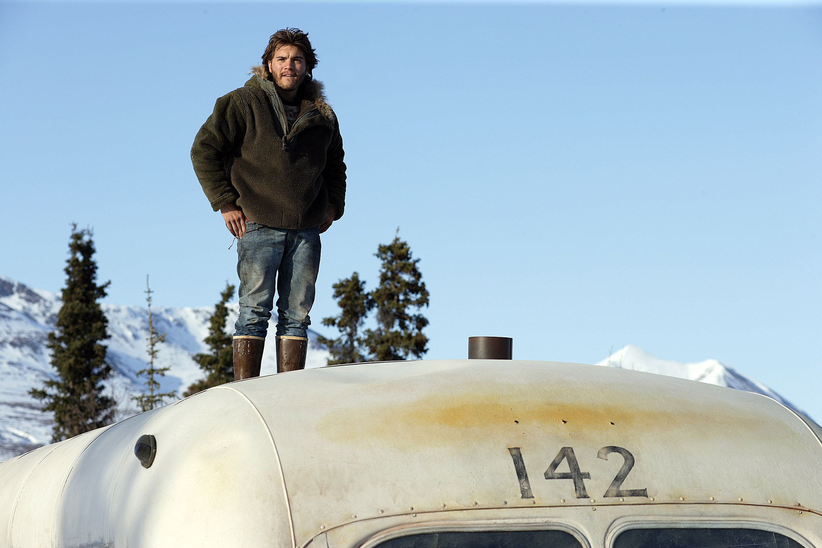 """Emile Hirsch in """"Into the Wild."""""""