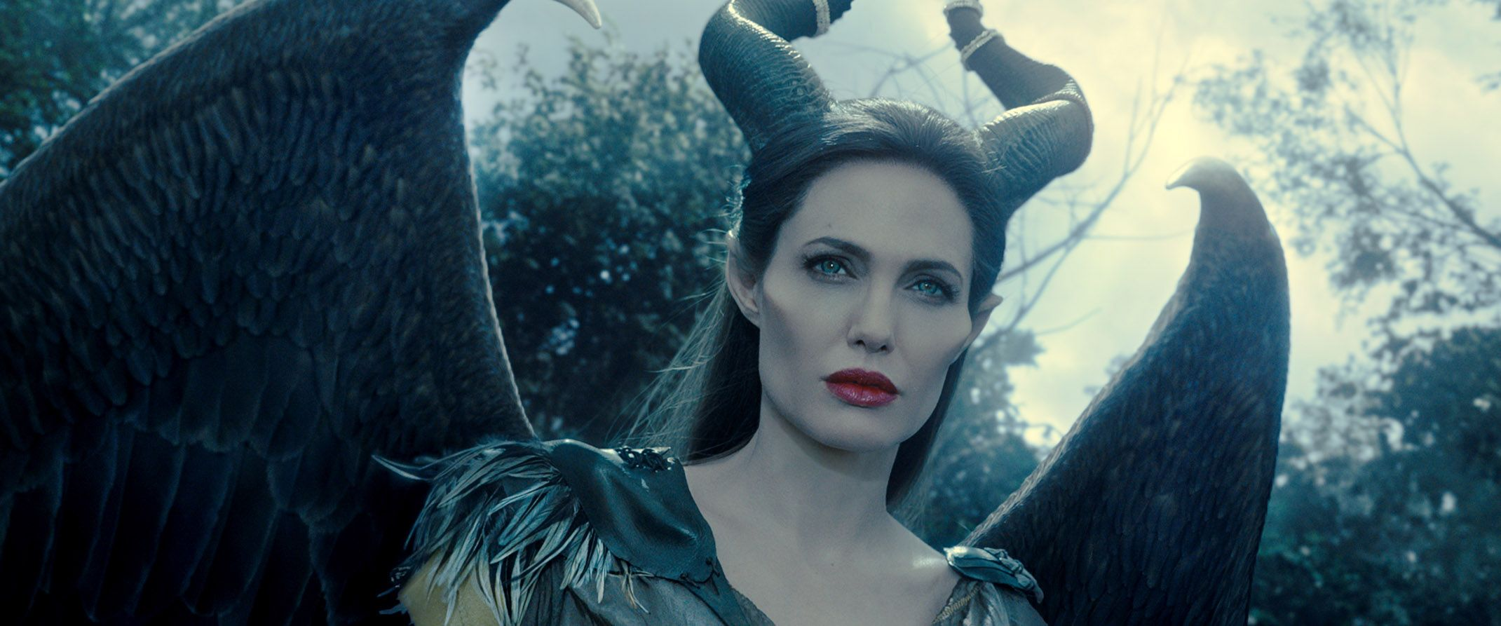 "Angelina Jolie in ""Maleficent."""