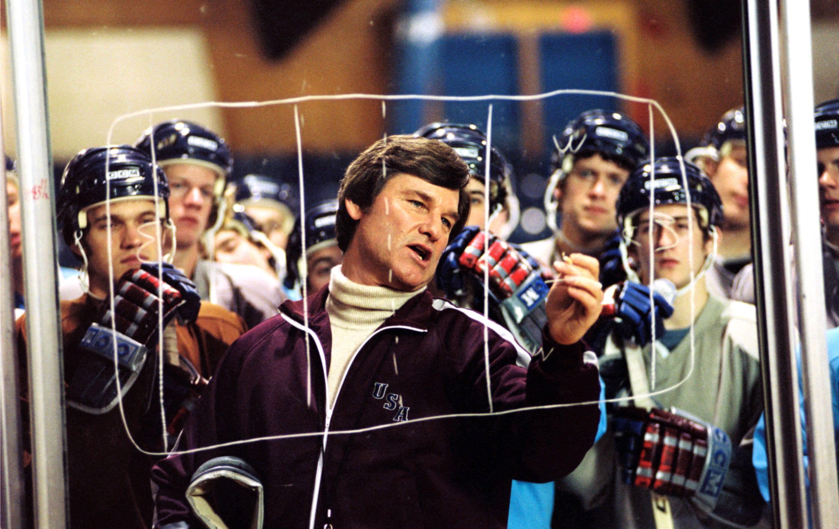 """Kurt Russell in """"Miracle."""""""