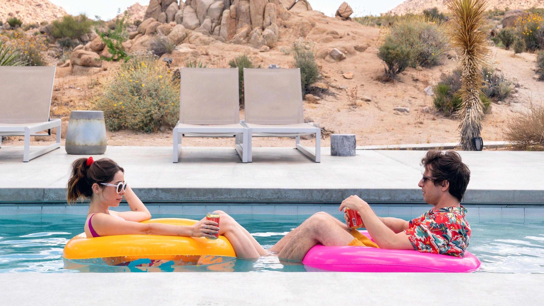 """Cristin Milioti, Andy Samberg in """"Palm Springs."""""""