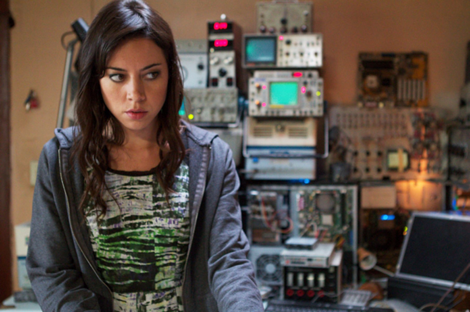 """Aubrey Plaza in """"Safety Not Guaranteed."""""""