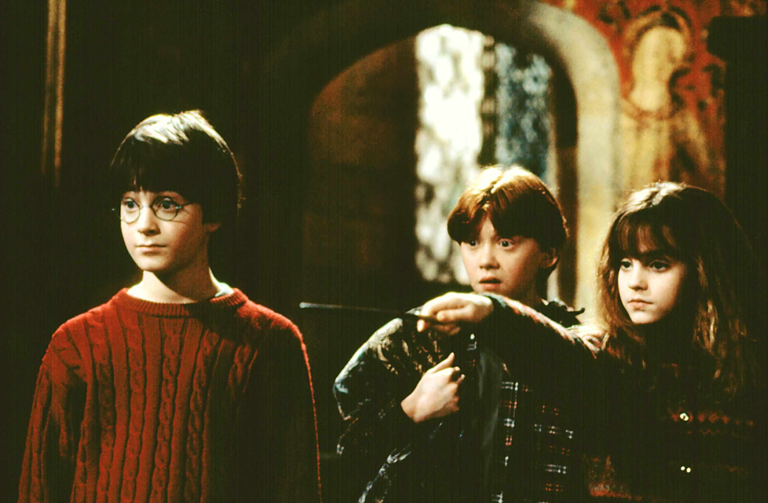 """A scene from """"Harry Potter and the Sorcerer's Stone."""""""