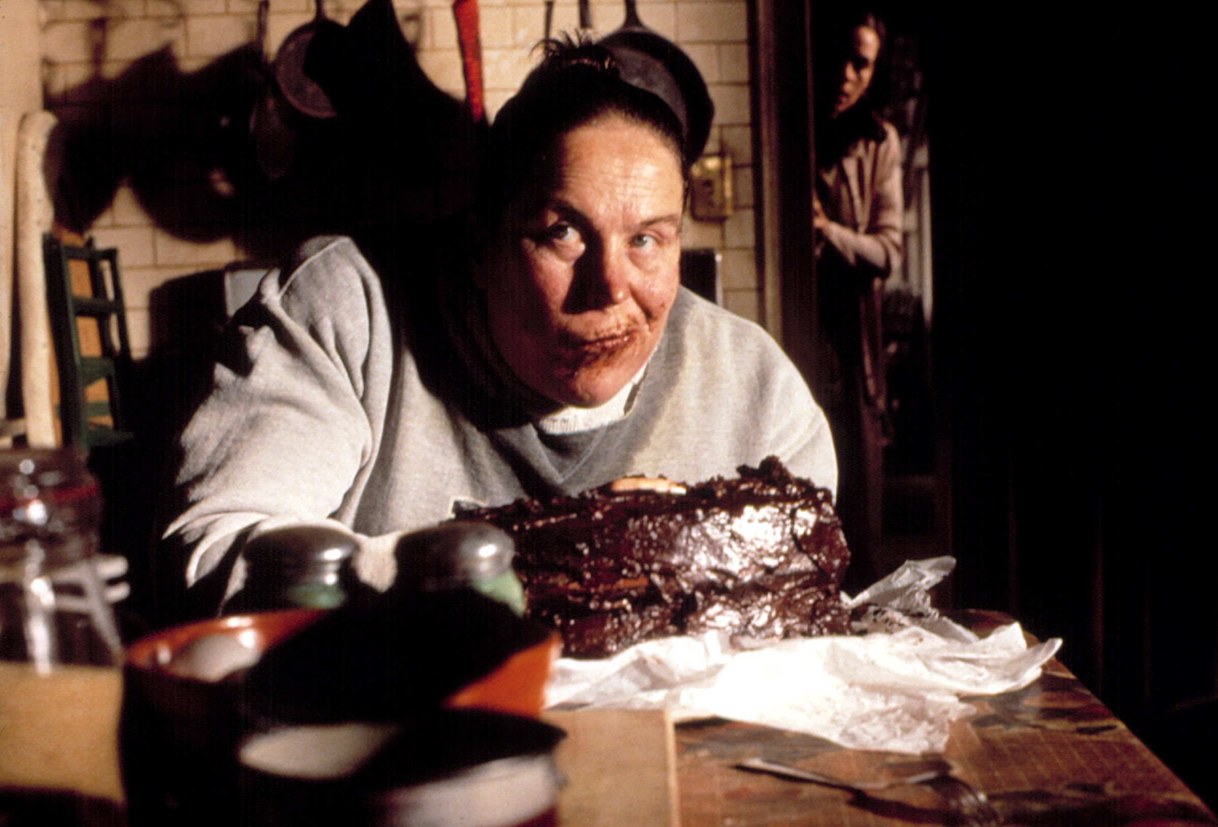 "Pam Ferris in ""Matilda."""