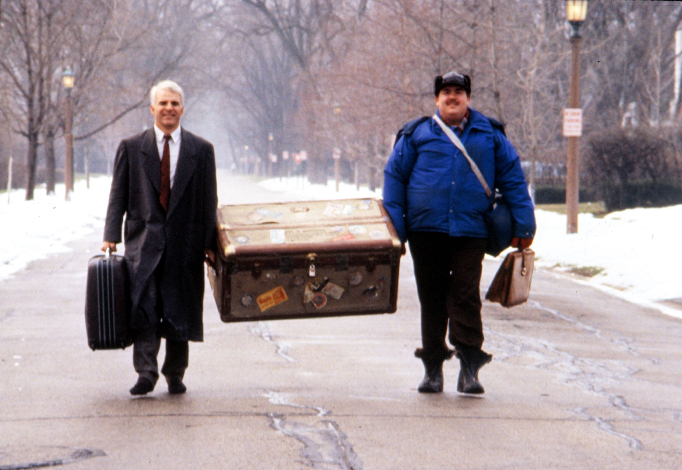 """A scene from """"Planes, Trains and Automobiles."""""""
