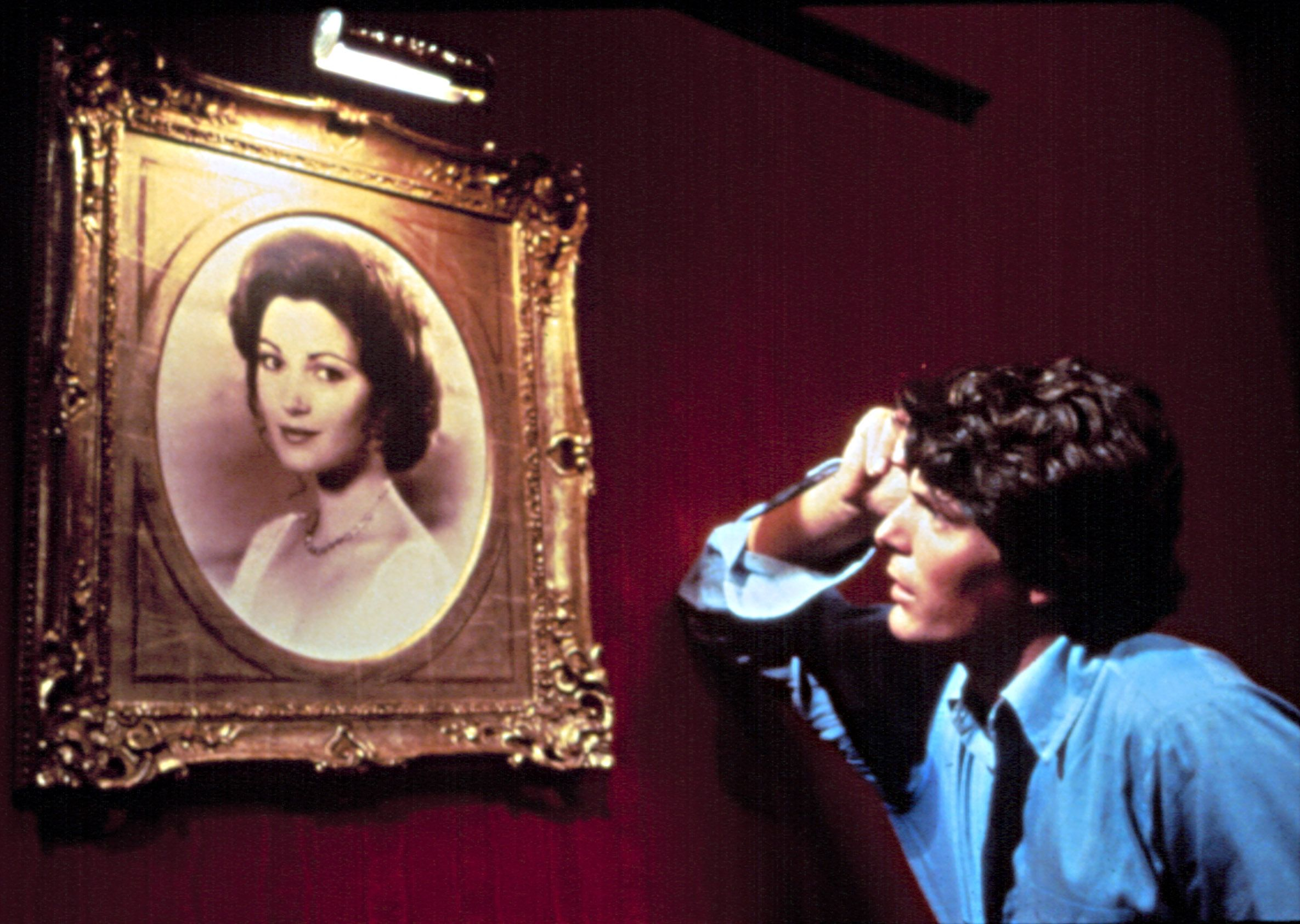"""Jane Seymour, Christopher Reeve in """"Somewhere in Time."""""""