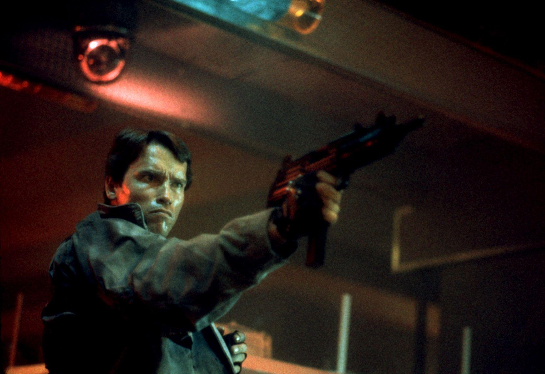 """Arnold Schwarzenegger in """"The Terminator."""""""