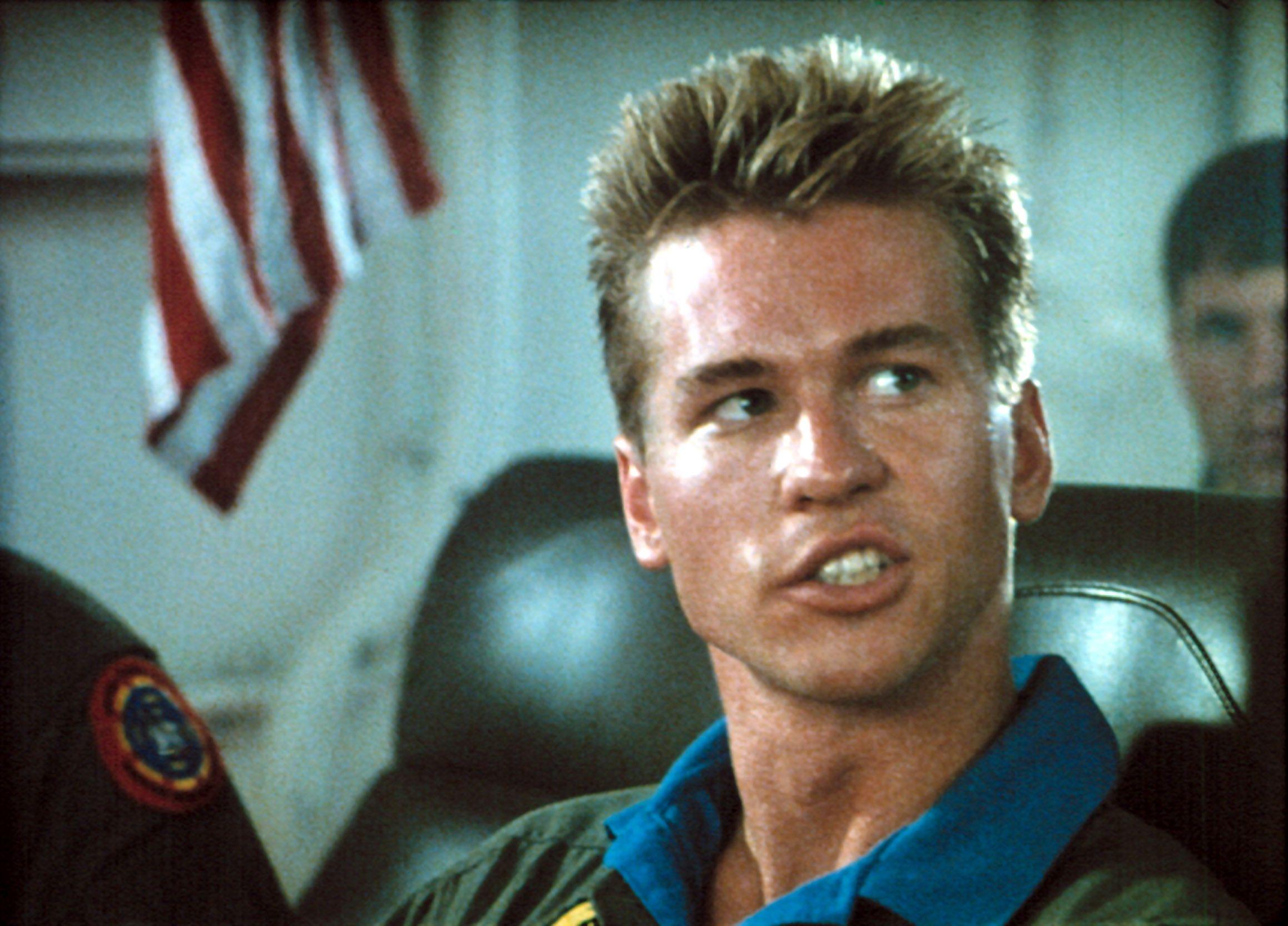 """Val Kilmer in """"Top Gun."""""""
