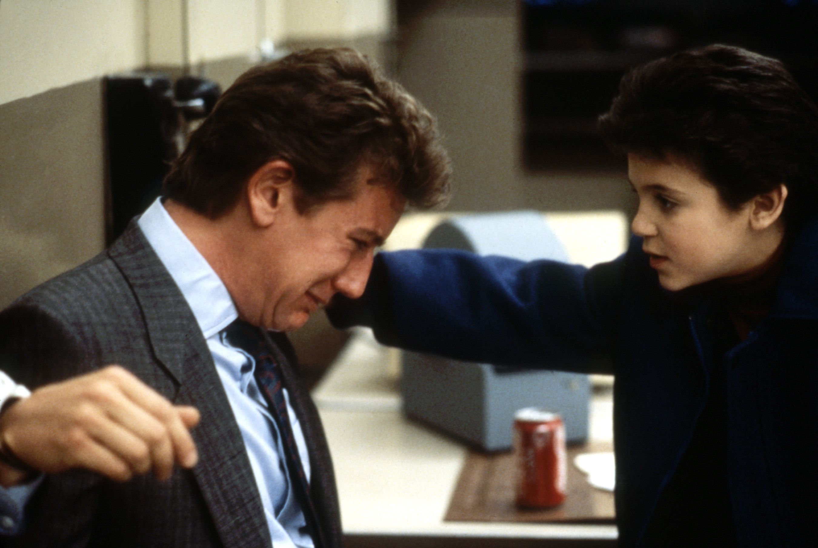 """Judge Reinhold and Fred Savage in """"Vice Versa."""""""