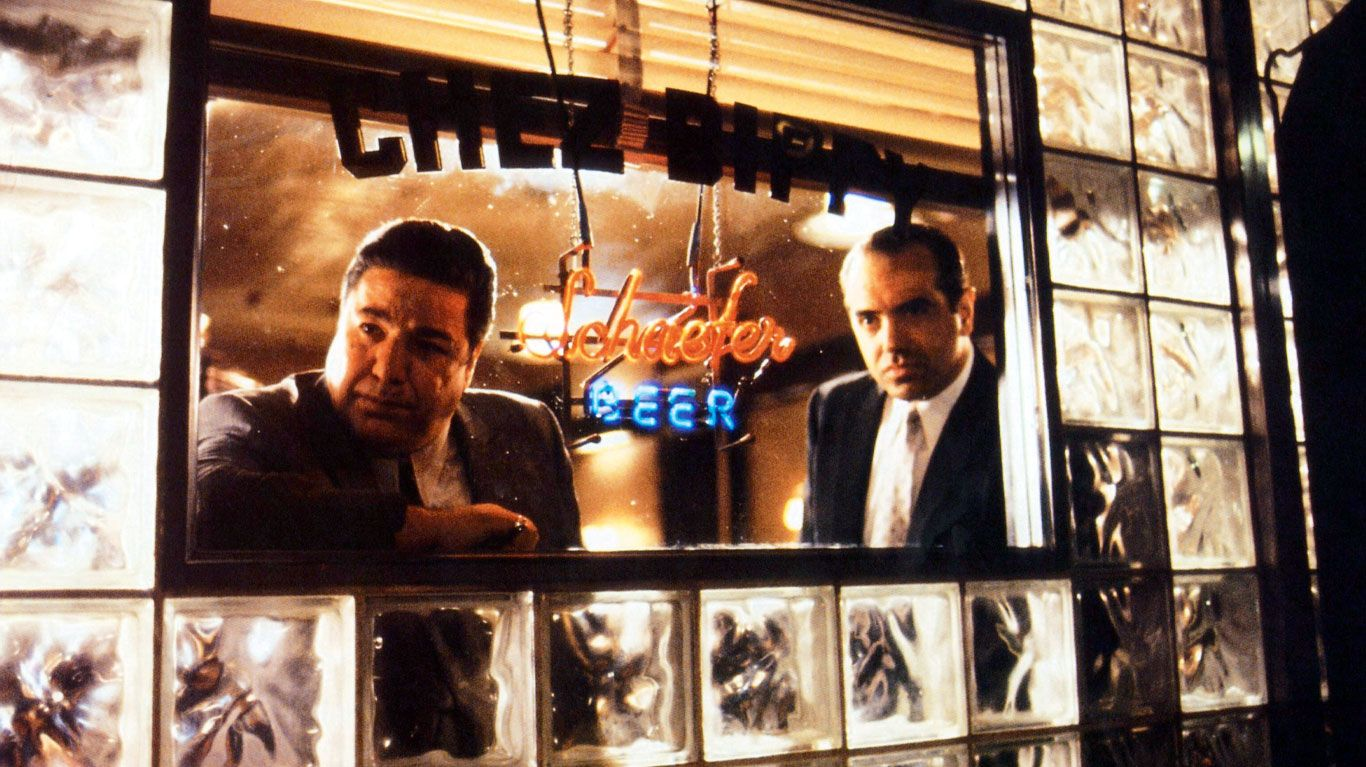 """Clem Caserta and Chazz Palminteri in """"A Bronx Tale."""""""