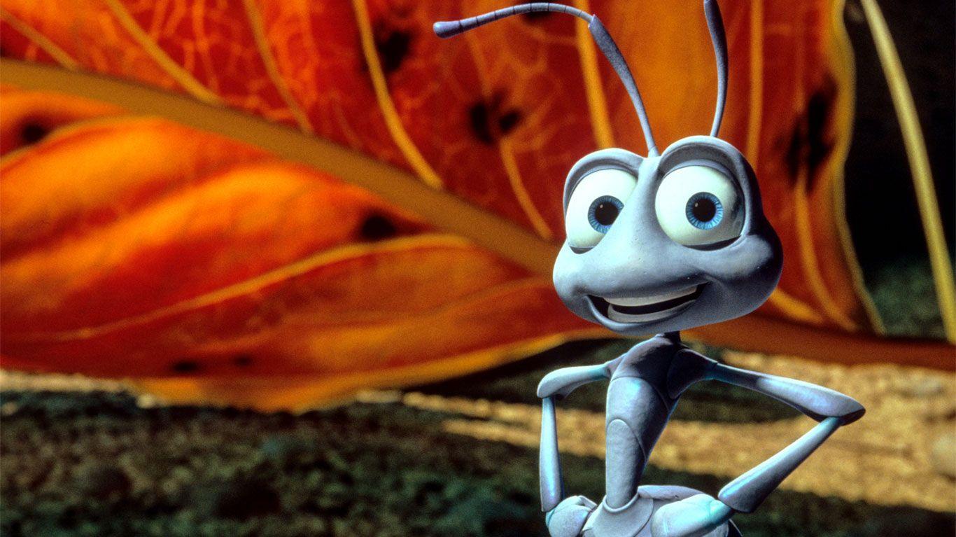 "Flik in ""A Bug's Life."""