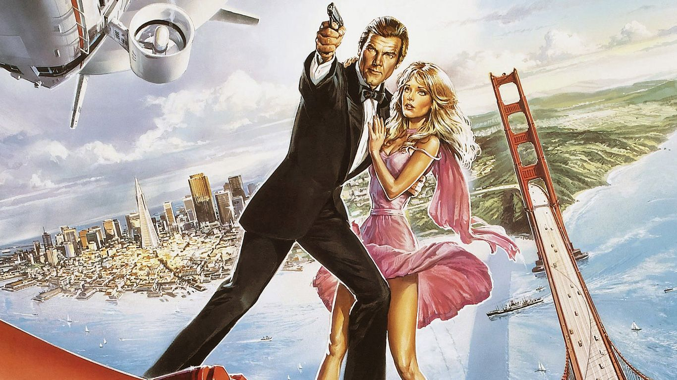 """Key art from """"A View to a Kill."""""""