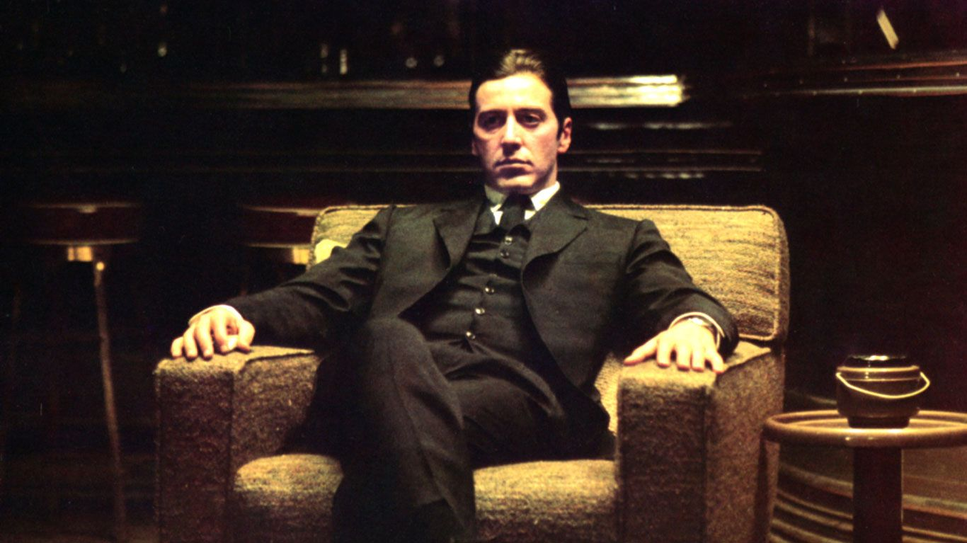 "Al Pacino in ""The Godfather, Part II."""