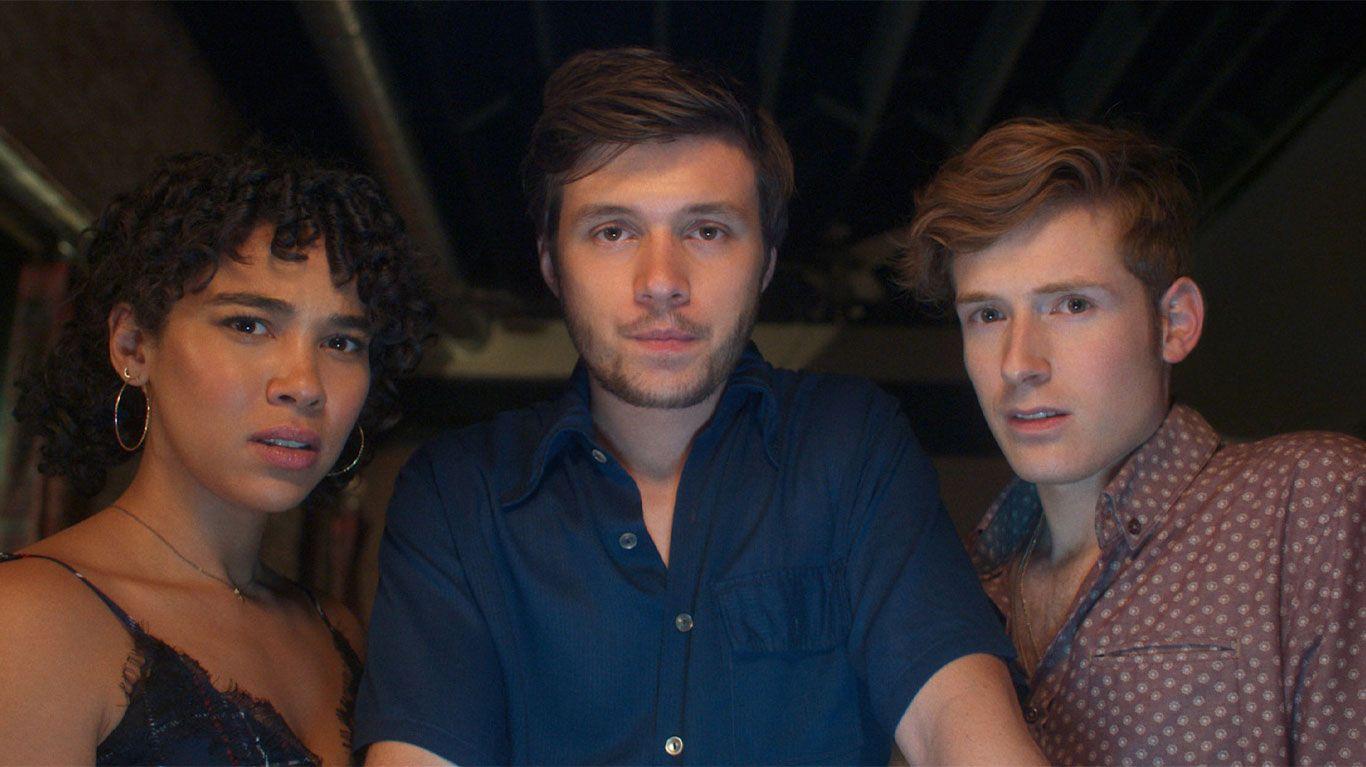 """Alexandra Shipp, Nick Robinson and Daniel David Stewart in """"Silk Road."""""""