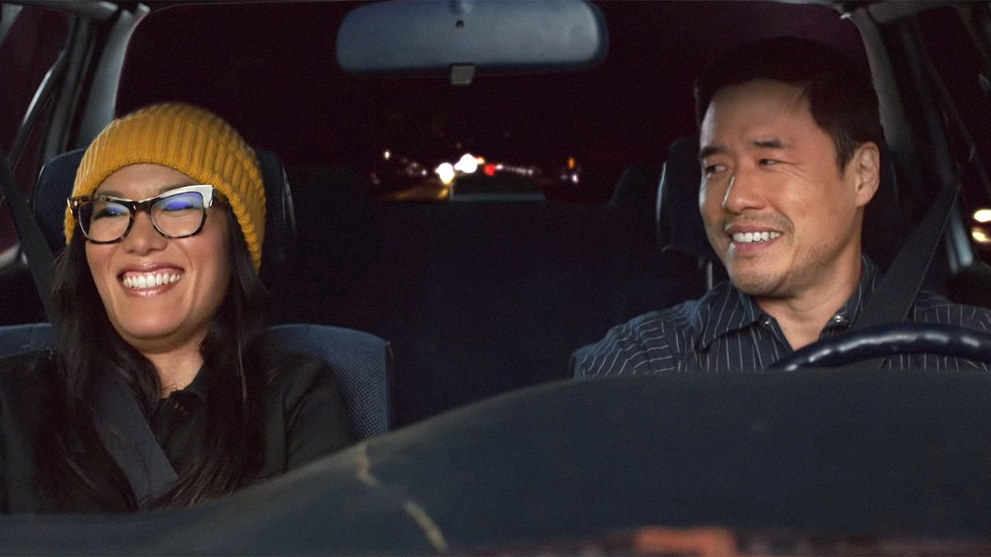 """Ali Wong and Randall Park in """"Always Be My Maybe."""""""