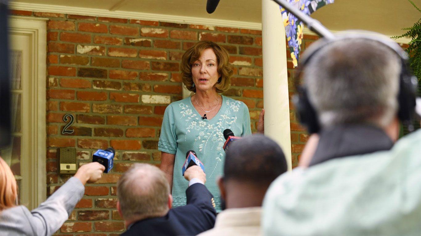 """Allison Janney in """"Breaking News in Yuba County."""""""