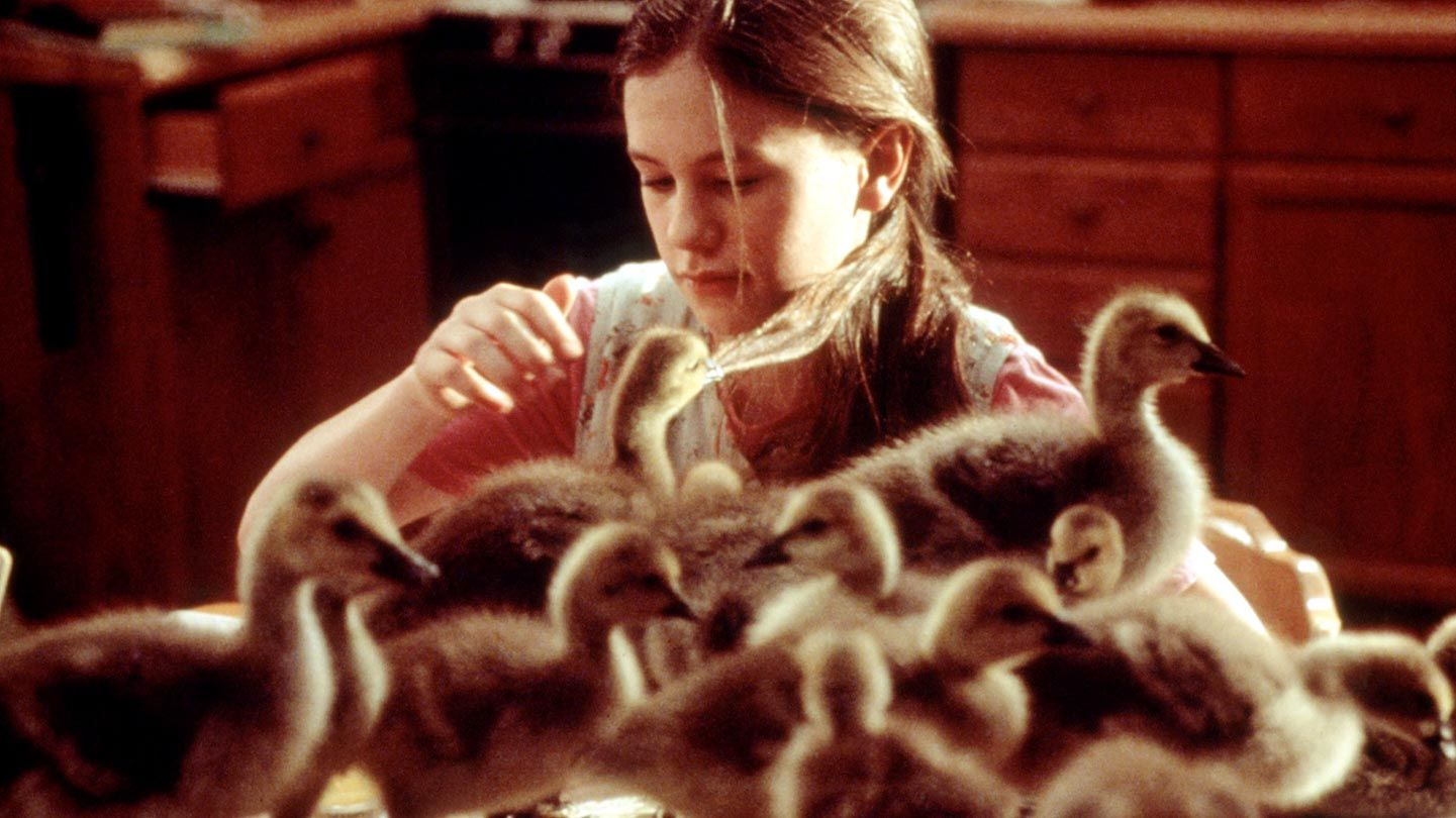 """Anna Paquin in """"Fly Away Home."""""""