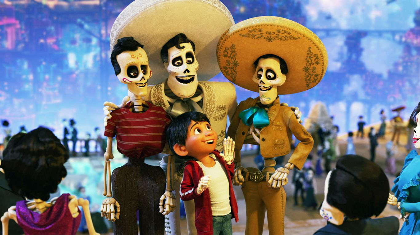 """Anthony Gonzalez and Benjamin Bratt lend their voices in """"Coco."""""""