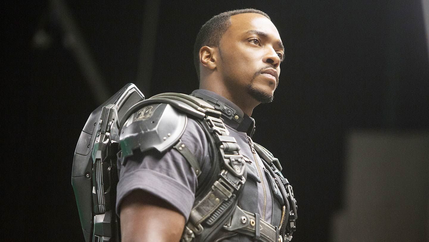 """Anthony Mackie in """"Captain America: The Winter Soldier."""""""