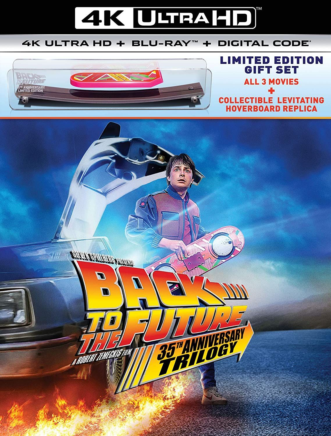 """""""Back to the Future"""" 35th Anniversary Trilogy 4K Ultra HD"""