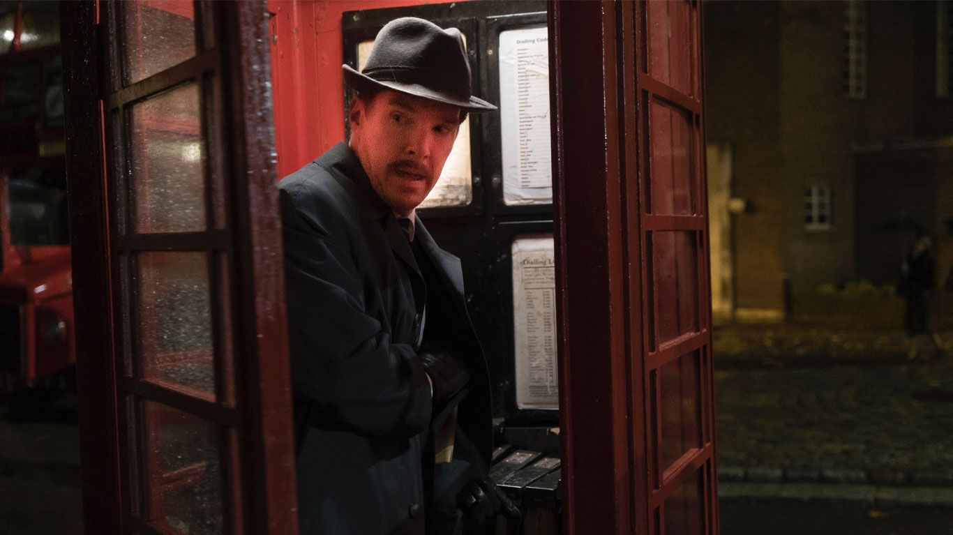 """Benedict Cumberbatch as Greville Wynne in """"The Courier."""""""