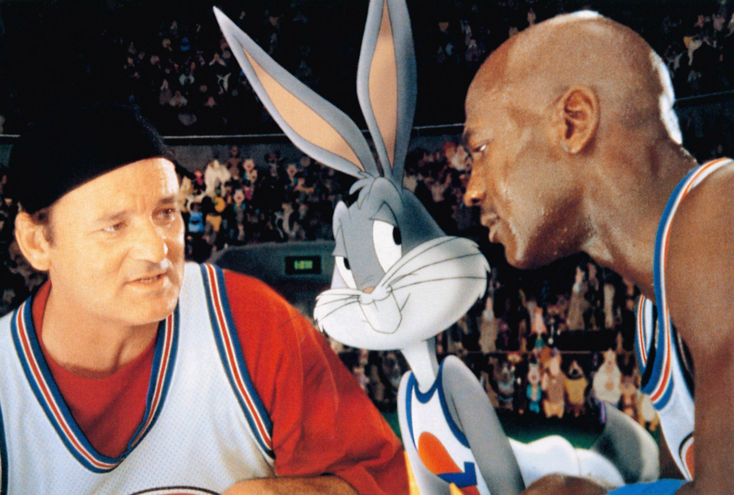 """Bill Murray and Michael Jordan in """"Space Jam."""""""