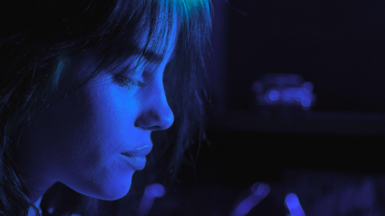 """Billie Eilish performs in """"Billie Eilish: The World's A Little Blurry."""""""