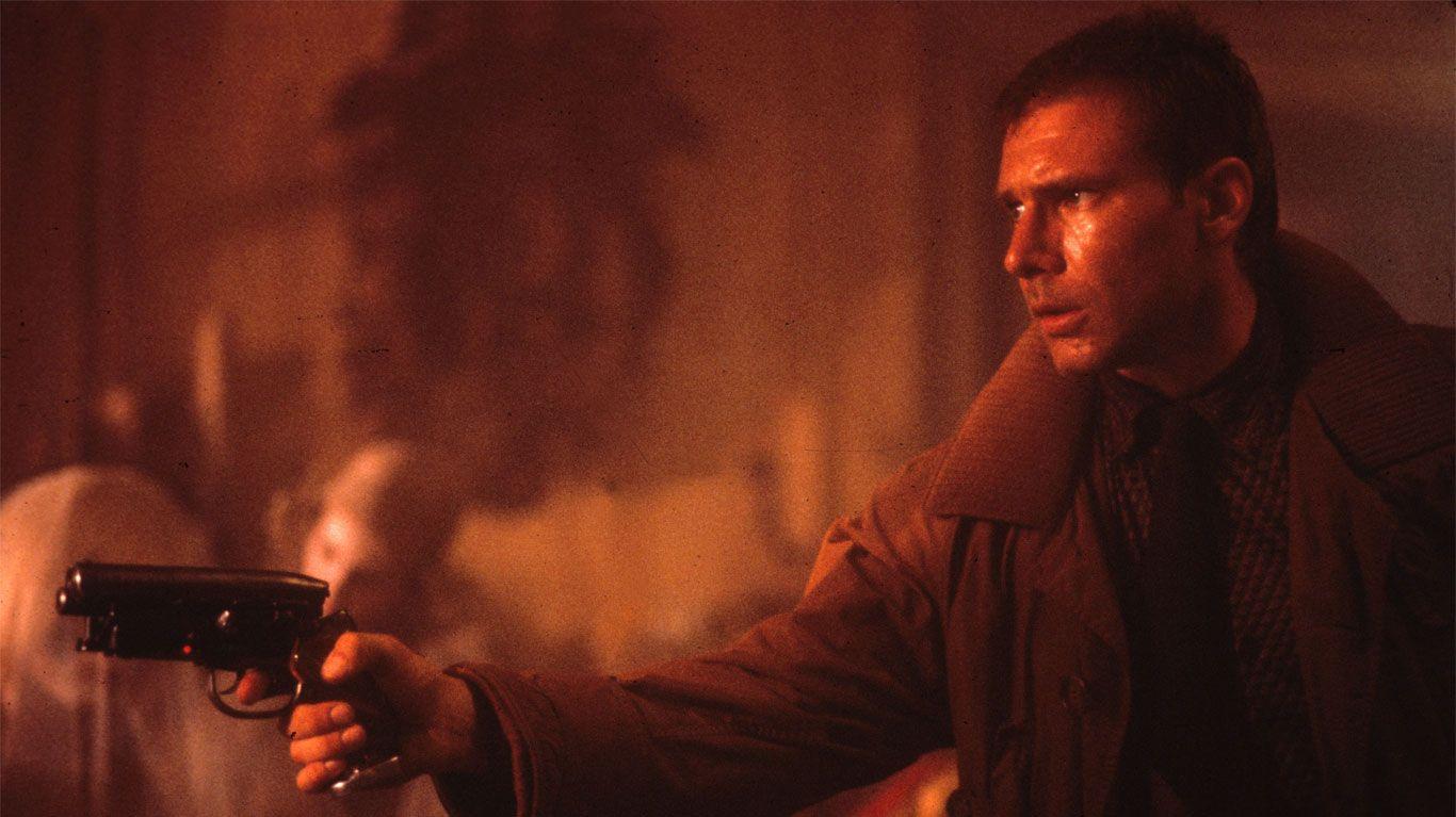 """Harrison Ford in """"Blade Runner."""""""