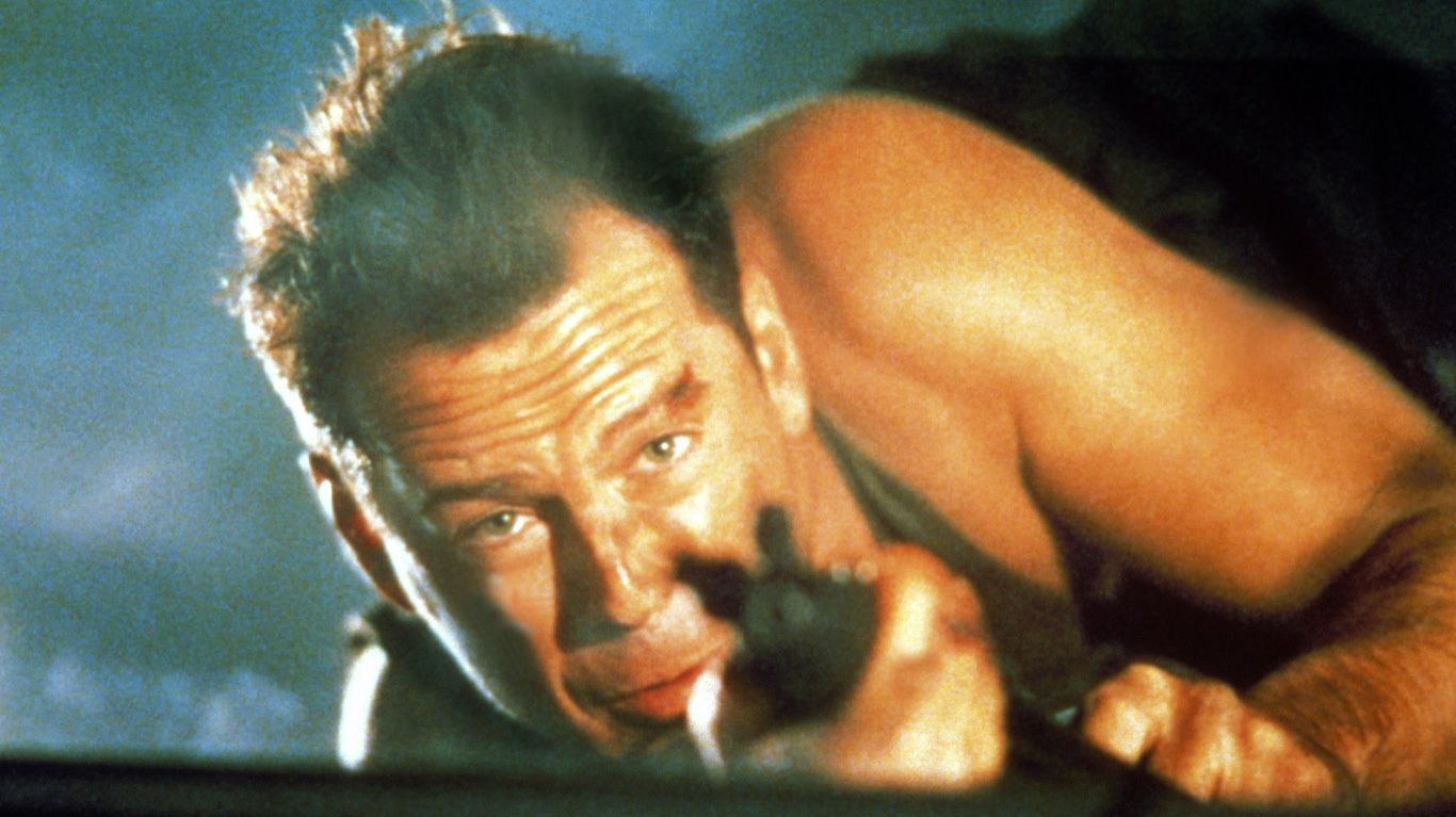 """Bruce Willis in """"Die Hard."""""""