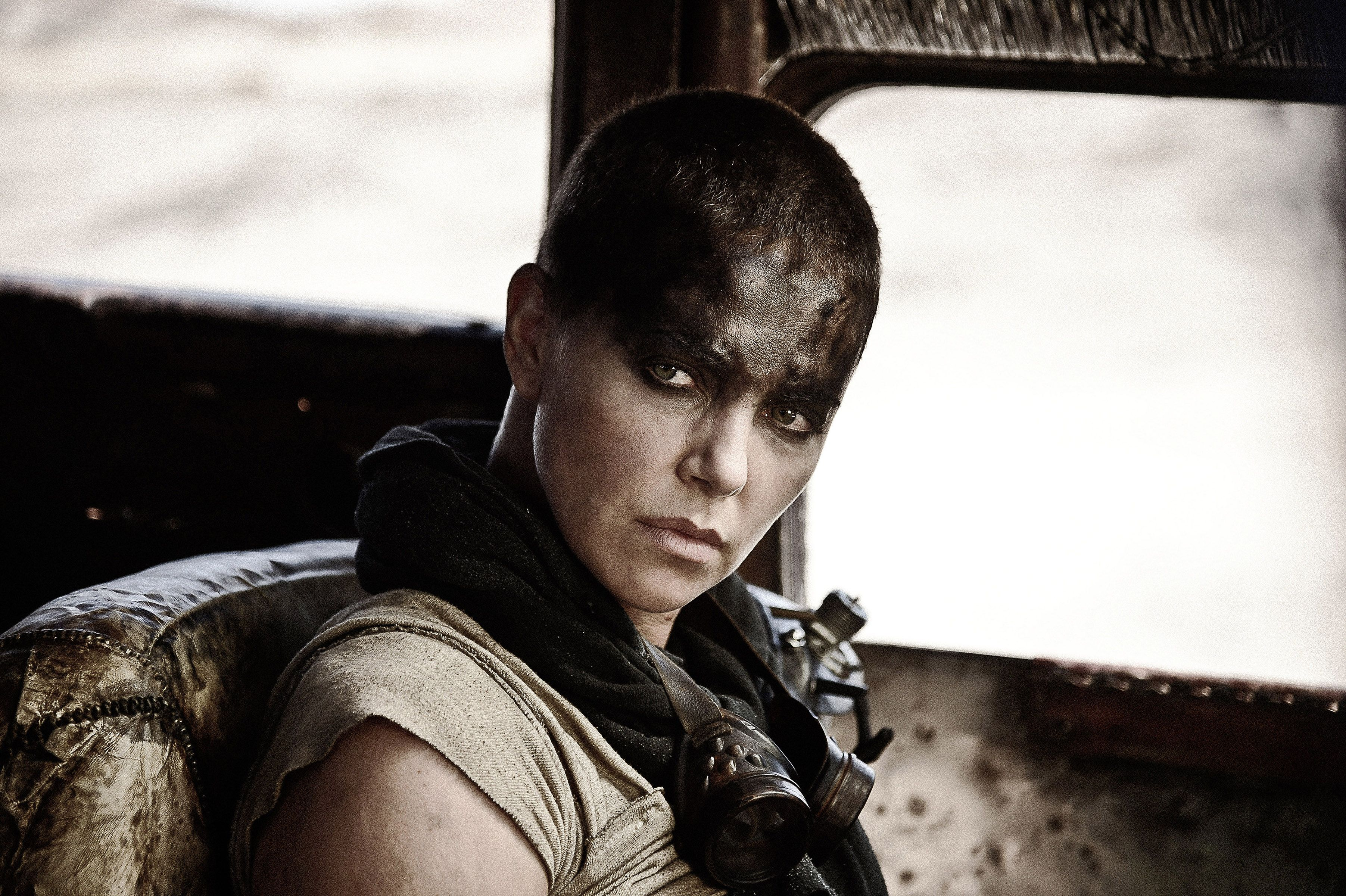"""Charlize Theron in """"Mad Max: Fury Road."""""""