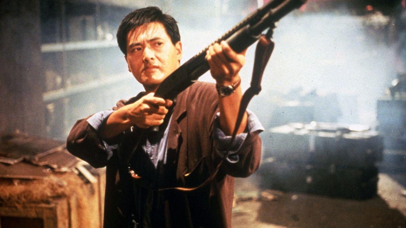 """Chow Yun-fat in """"Hard-Boiled."""""""