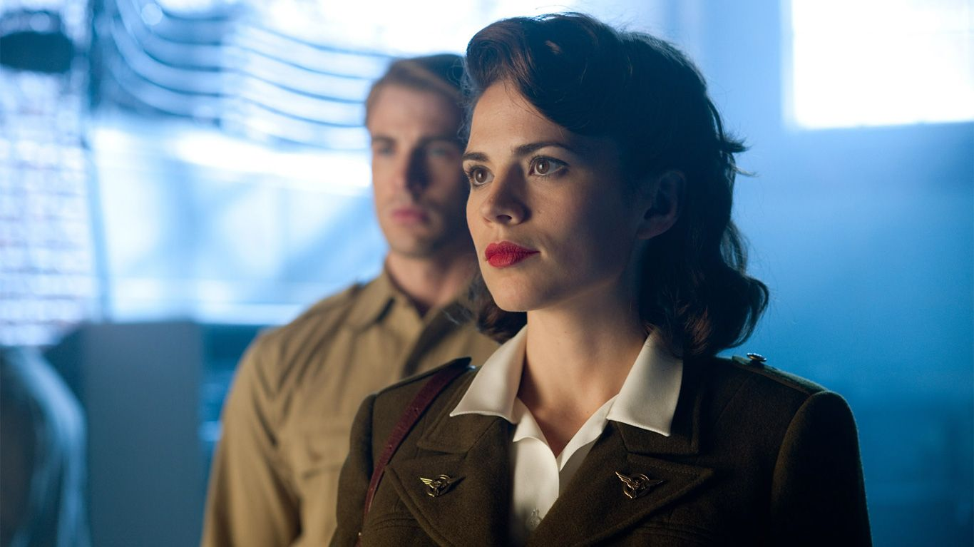 """Chris Evans and Hayley Atwell in """"Captain America: The First Avenger."""""""