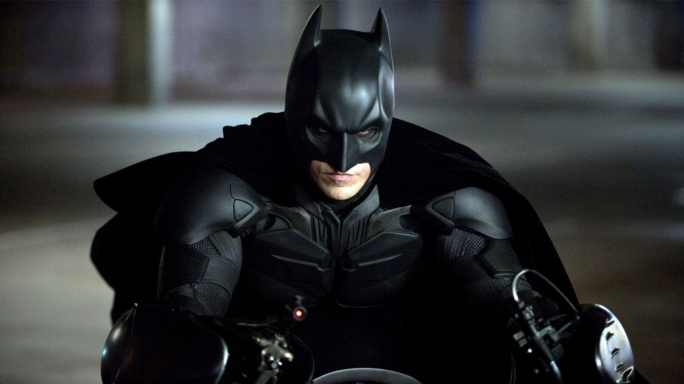 """Christian Bale in """"The Dark Knight Rises."""""""