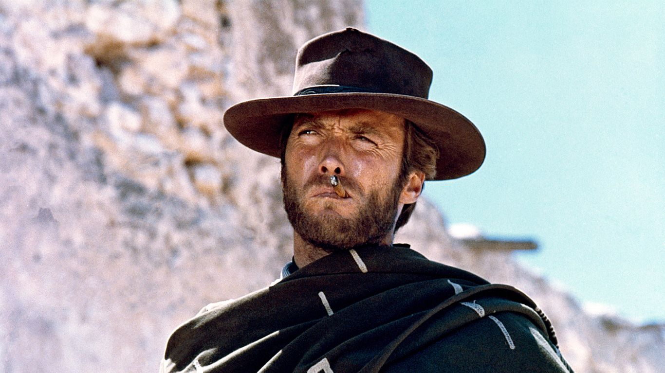 """Clint Eastwood in """"A Fistful of Dollars."""""""