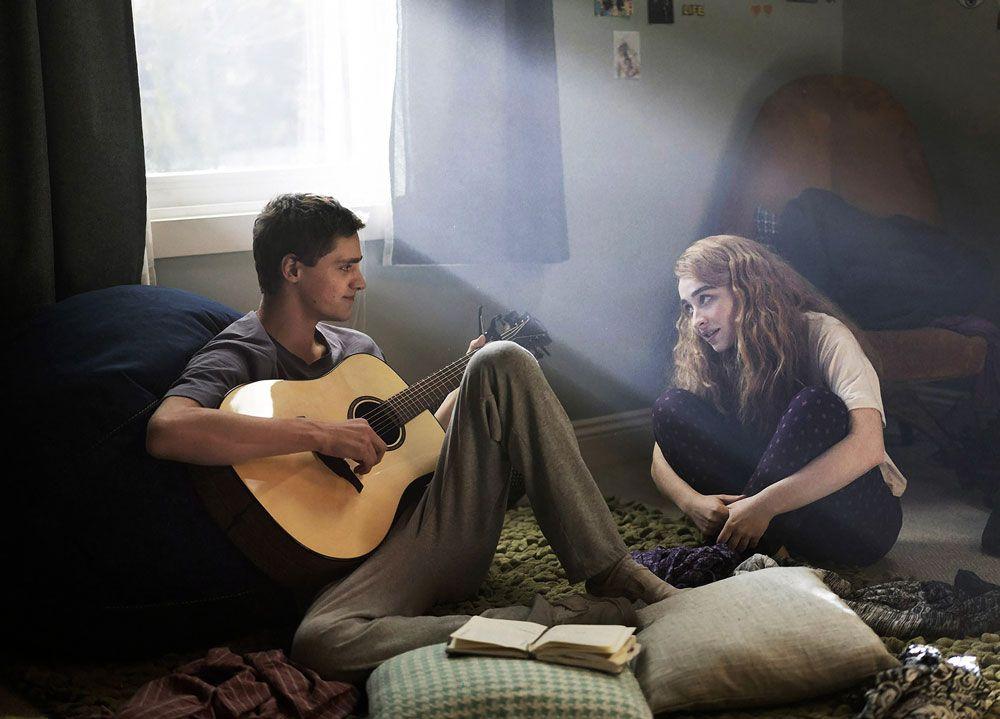 """Fin Argus and Sabrina Carpenter in """"Clouds."""""""