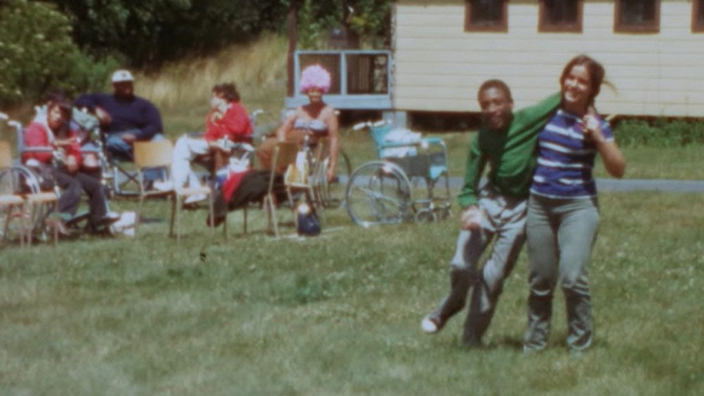 """A scene from """"Crip Camp."""" © Netflix / Courtesy Everett Collection"""