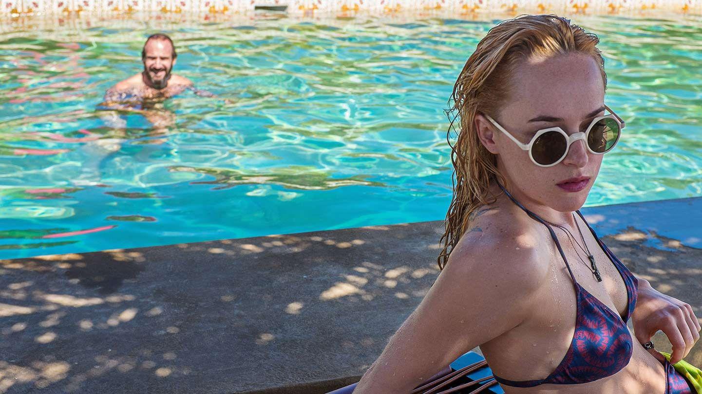"""Dakota Johnson in """"A Bigger Splash."""""""
