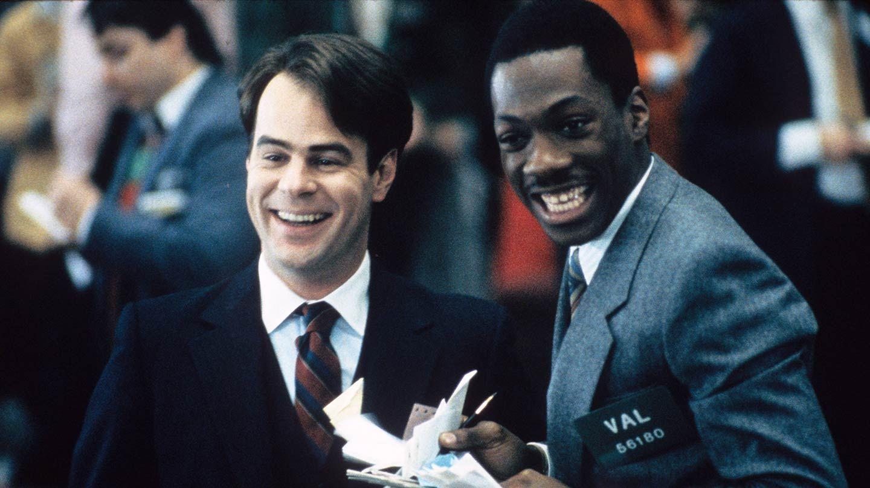"""Dan Aykroyd and Eddie Murphy in """"Trading Places."""""""