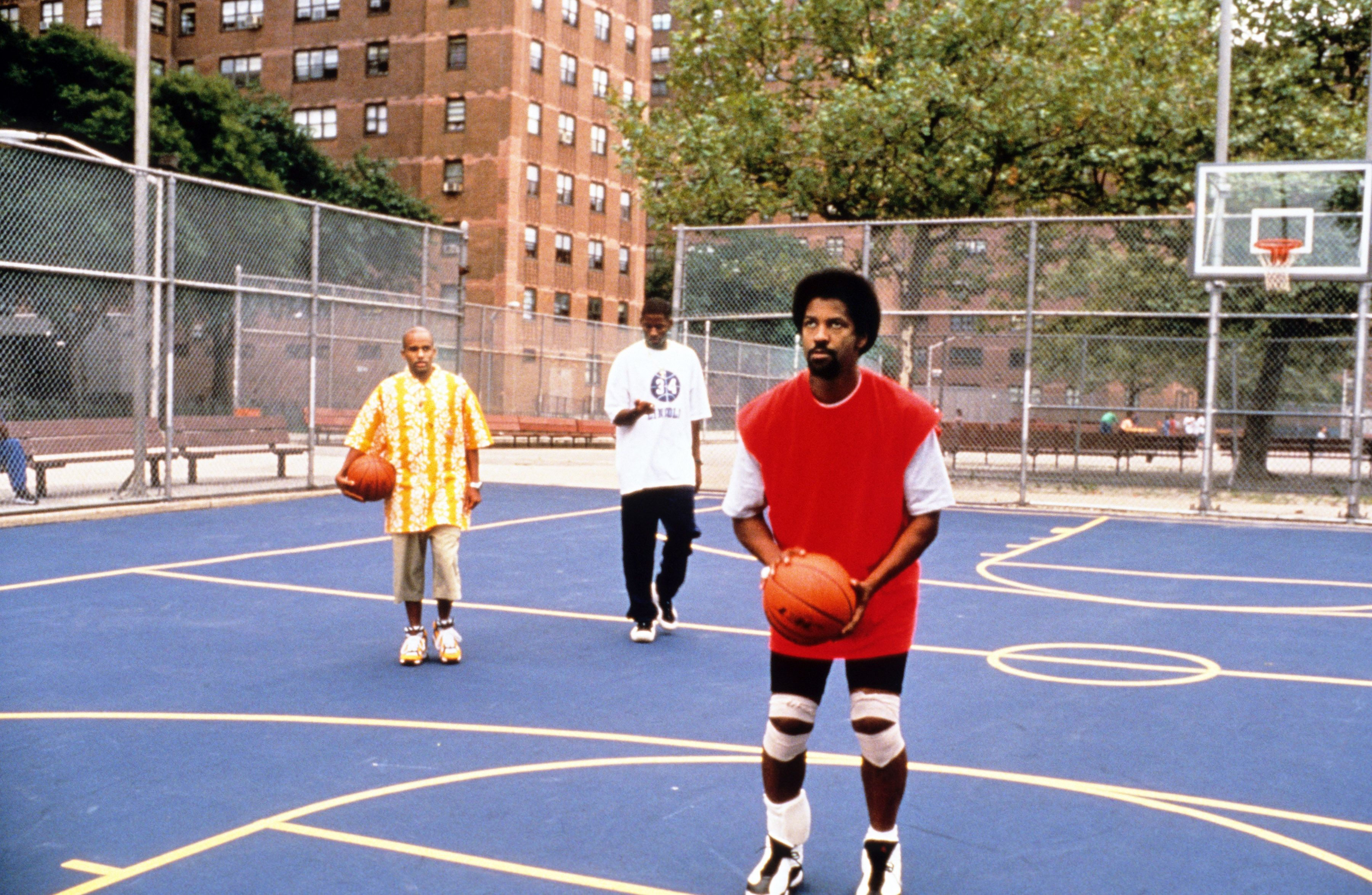 "Denzel Washington in ""He Got Game."""