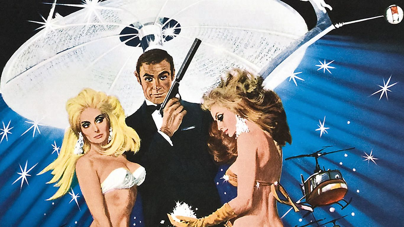 """Key art from """"Diamonds Are Forever."""""""