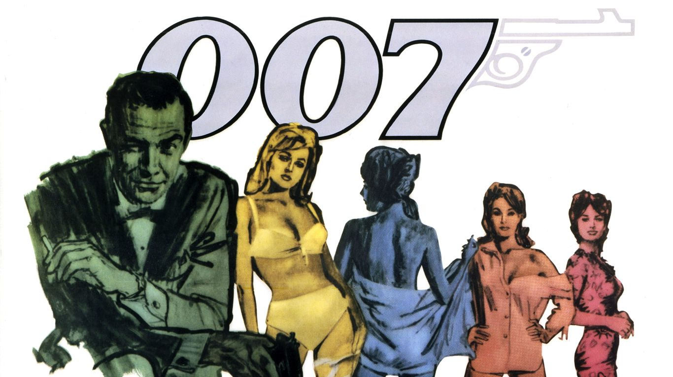 """Key art from """"Dr. No."""""""