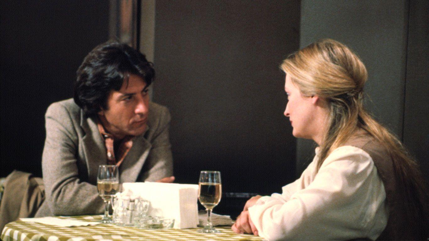 """Dustin Hoffman and Meryl Streep in """"Kramer vs. Kramer."""""""